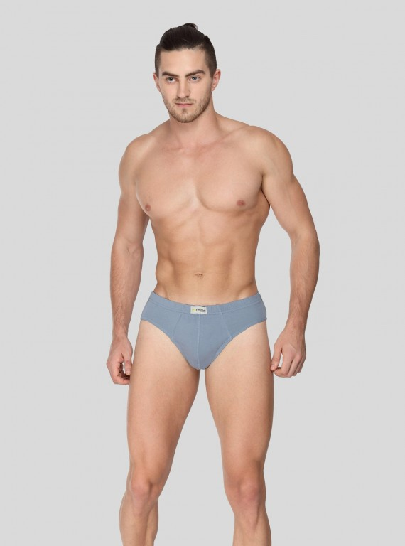 Blue Jersey Brief - 2 Pack