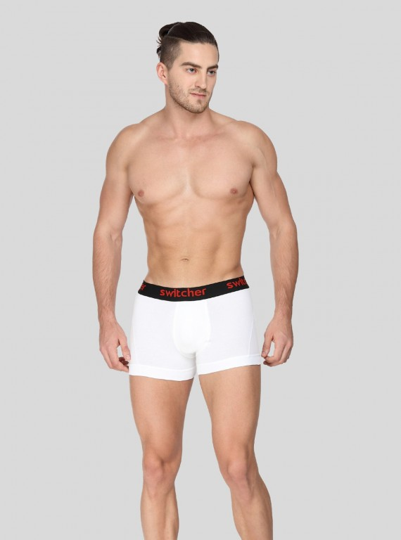 White Banded Brief