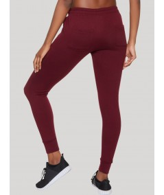 Burgundy Womens Sweat Pant