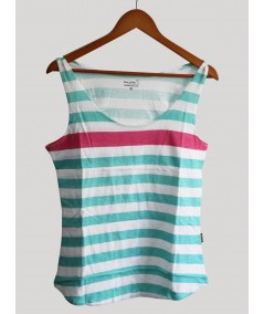 Tank Top - Stripped Purple