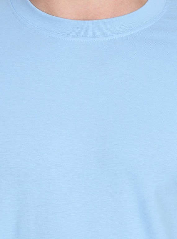 Blue Poole Basic Crew Neck TShirt