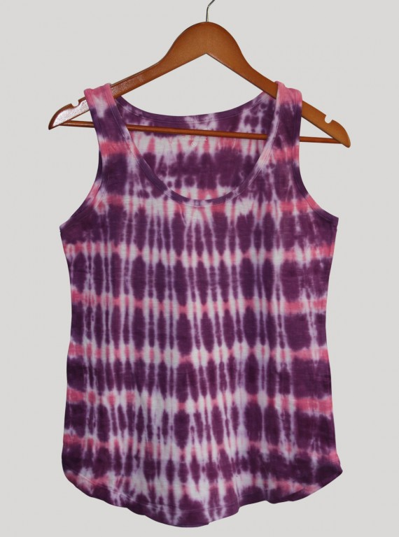 Sleeveless Purple Top
