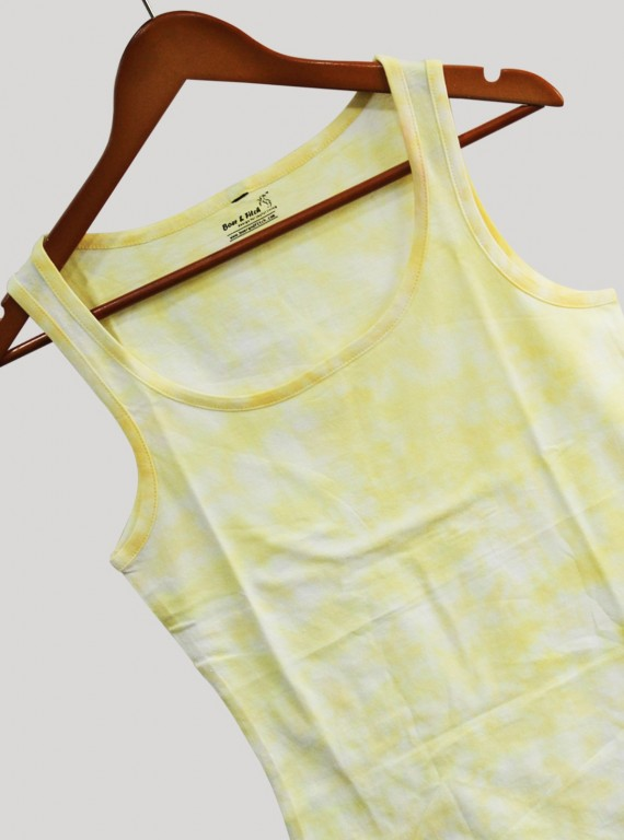 Sleeveless Yellow TShirt