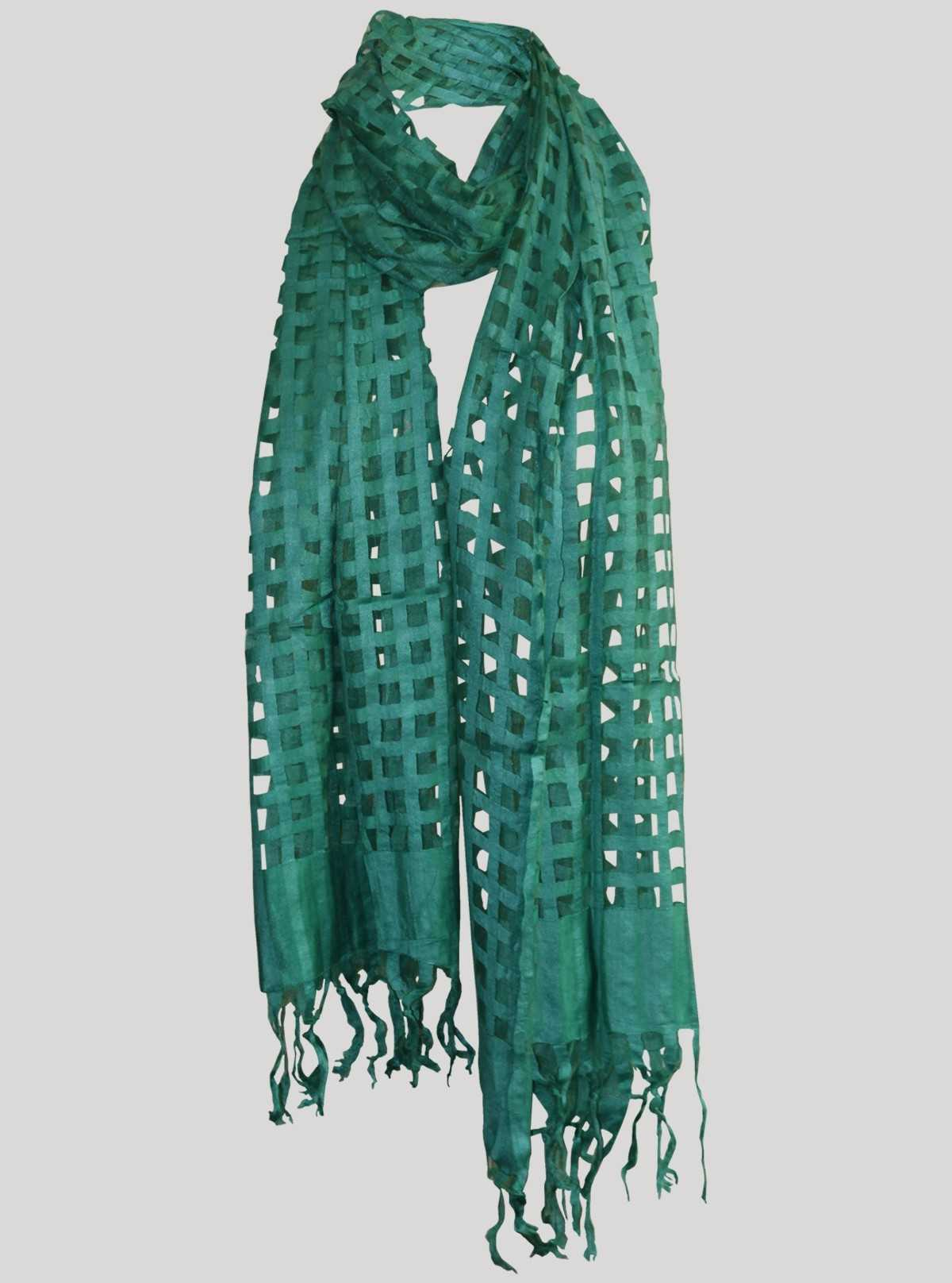 Green Mirror Scarf