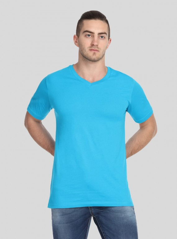 Blue Bay V Neck TShirt