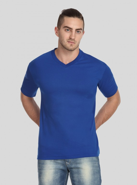 Royal V Neck TShirt