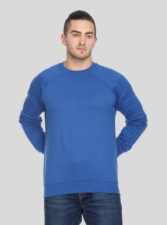 Royal Raglon Fleece Sweat Shirt