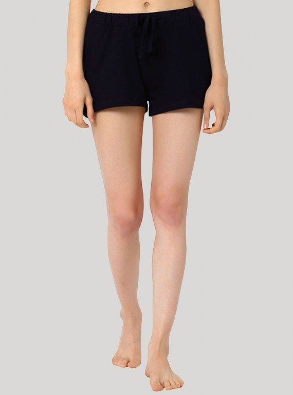 Navy Womens Shorts