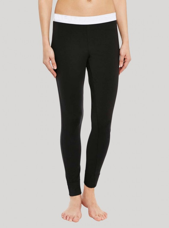 Black PJ Bottom Pant