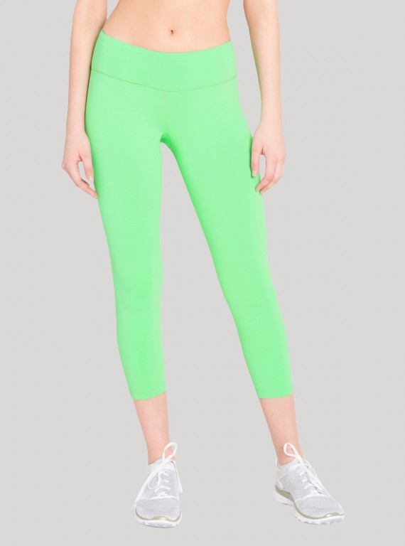Womens Green Capri