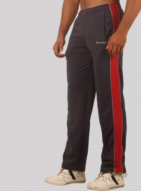 Red Pannel Track Pants