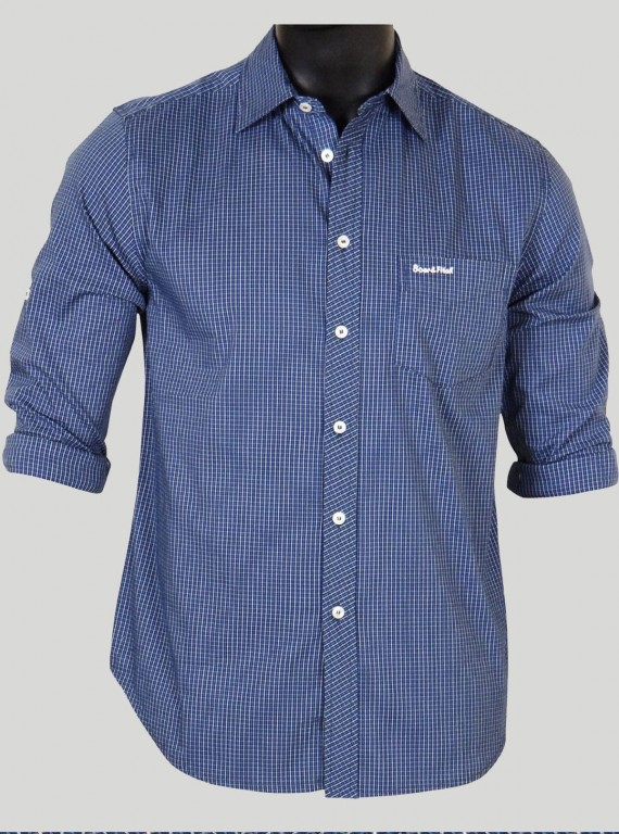 Slim Fit - Ink Blue Shirt