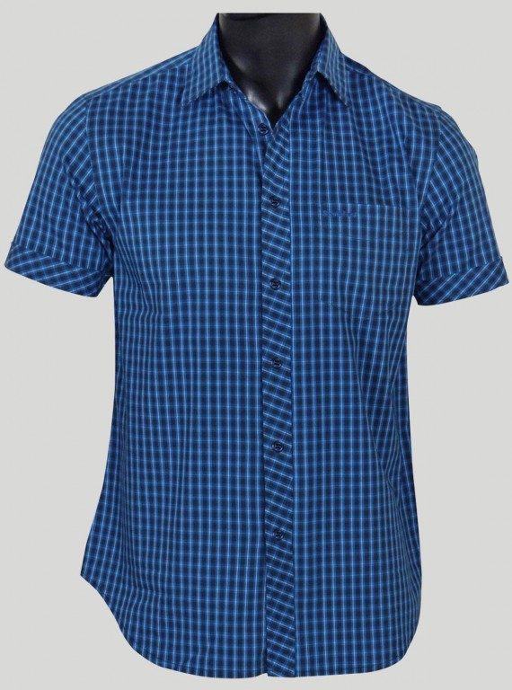 Slim Fit - Ink Blue Casual...