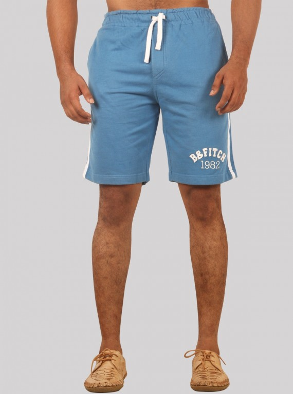 Royal Piping Fleece Shorts