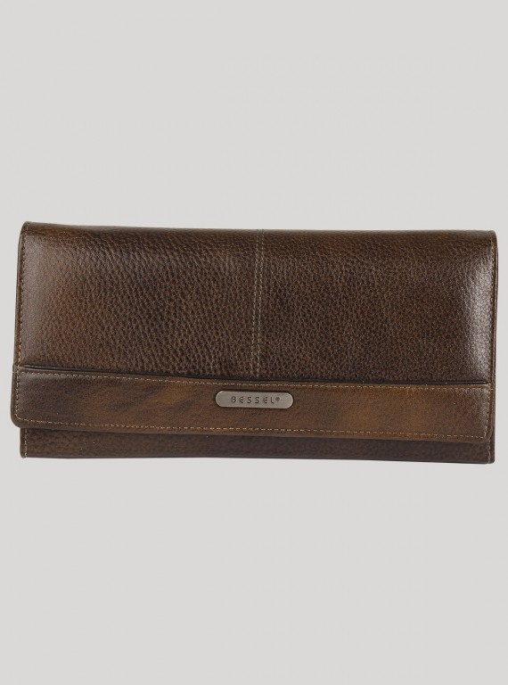 Light Grey Leather Wallet