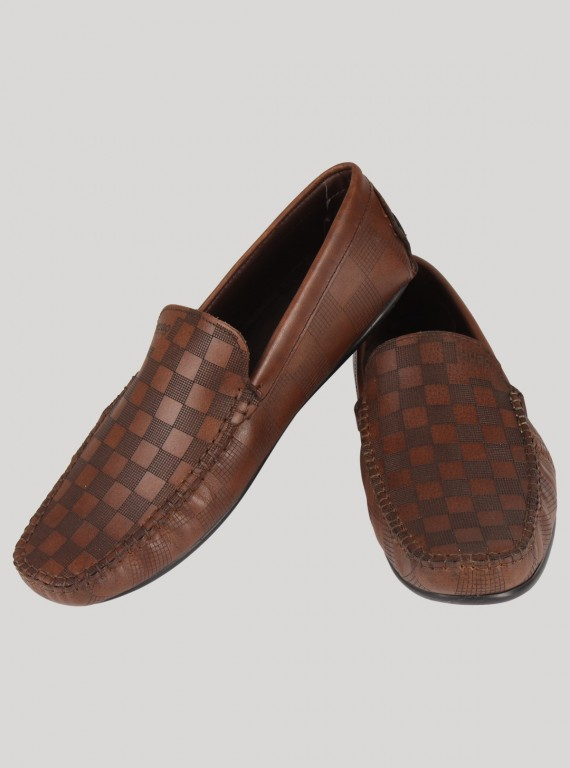 Brown Designer Loafer