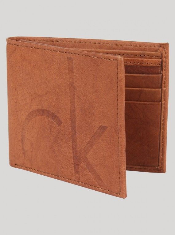 Suded Leather Wallet