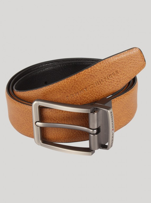 Beige Square Buckle Waist Belt