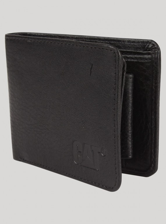 Jet Black Mens Wallet
