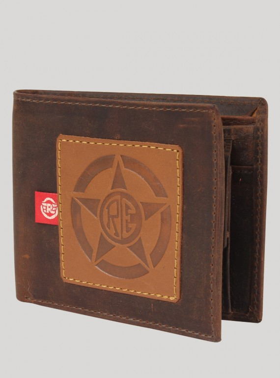 Brown Multi Color Wallet