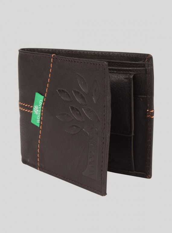 Black Red Stitch Wallet