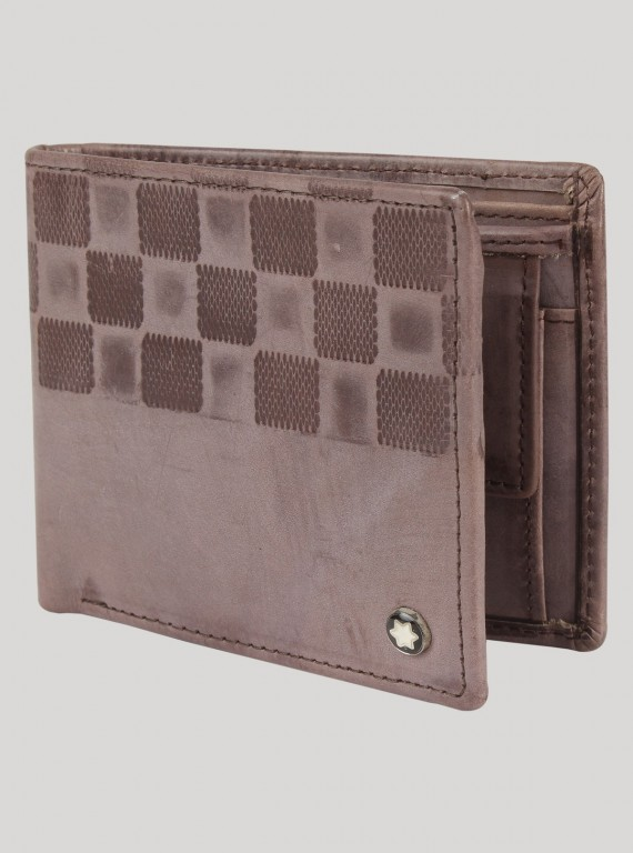 Grey chess Design Wallet