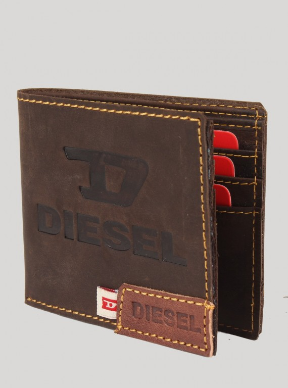 Dark Brown Leather Wallet
